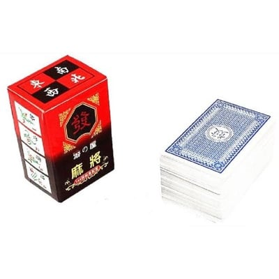 艾比讚 麻將紙牌【L215】麻將撲克紙牌 紙麻將撲克牌 旅遊麻將 無聲軟麻將 144張標準版