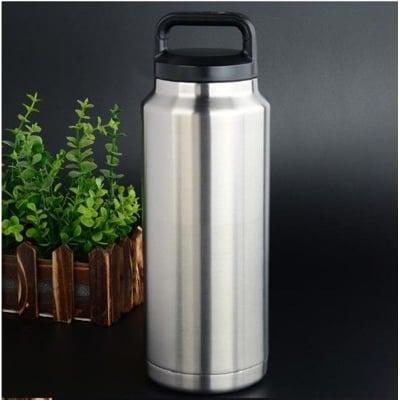 【大款不鏽鋼保溫杯 CH】304不銹鋼保溫杯 雙層真空1000ML戶外保溫桶保冷保溫壺保溫杯