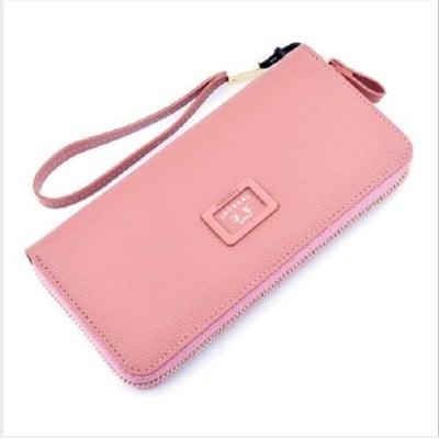 多功能時尚零錢包【XU070】手拿包女士錢包 長皮夾 錢包 無嘴貓 皮夾