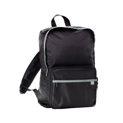【Go Travel】Daypack 折疊後背包-黑色