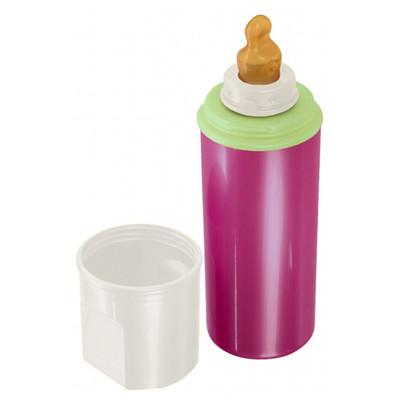 rotho-babydesign 保溫奶瓶-紅