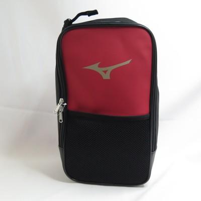 mizuno 鞋袋 手提包 1fjy141461 黑x紅 約7lisport愛運動 - 下單前請先詢
