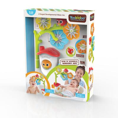 Yookidoo 以色列 洗澡/ 戲水玩具 - 花兒轉轉灑水組
