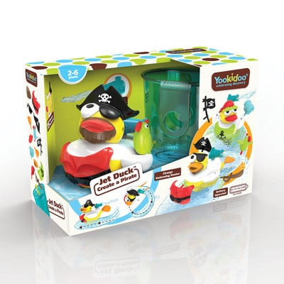 Yookidoo 以色列 洗澡/ 戲水玩具 - 神鴨奇航