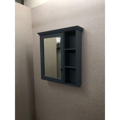 鏡櫃 鏡箱 鏡子 單門 浴室 寬70CM 高80CM 收納浴室不雜亂 PVC防水發泡板 緩降靜音