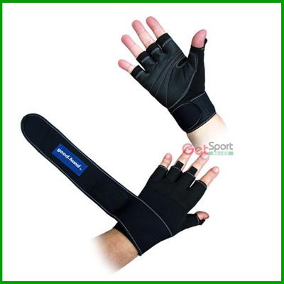 護腕重訓手套(捆帶式)(護腕/健力手套/健身手套/重訓)