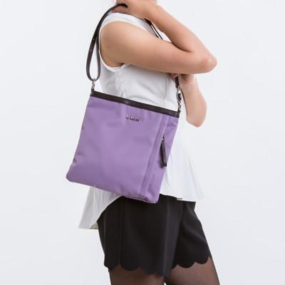 le Lufon 尼龍拼皮革小型肩背包(S) 斜背/側背包