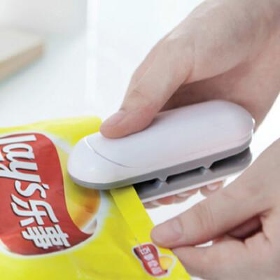 迷你掌上型 食物保鮮密封熱壓封口機