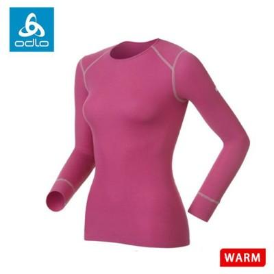 ODLO 瑞士 女圓領長袖排汗內衣《紫》152021/保暖內衣/內層/衛生衣