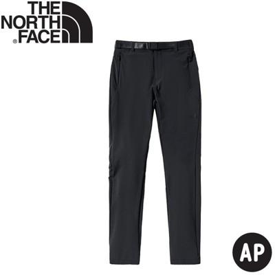 The North Face 女 軟殼長褲《瀝灰》4ND2/防潑水/戶外長褲/休閒長褲/登山褲
