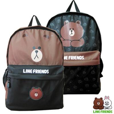 LINE FRIENDS 熊大造型後背包