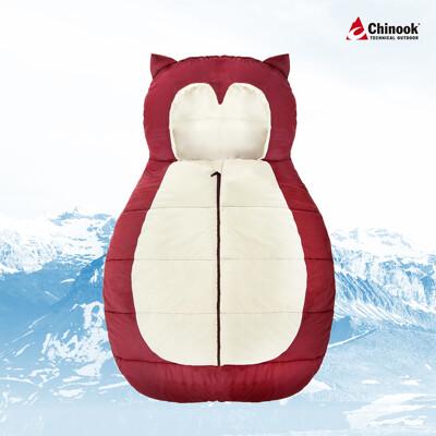 【Chinook】貓頭鷹造型兒童睡袋-L尺寸