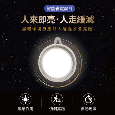 【人來即亮!小巧易安裝】LED感應夜燈 紅外線感應燈 自動感應燈 感應夜燈 照明燈 床頭燈 小夜燈