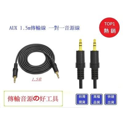 音源線AUX 公對公1.5m音源線 3.5mm接頭  【Chu Mai】一對一音源線 電腦傳輸線
