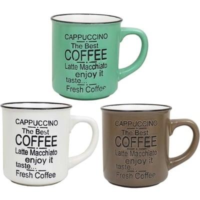 復古咖啡杯400cc/馬克杯/陶瓷杯