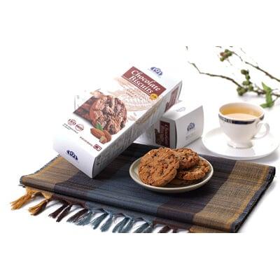 【全聯熱銷】191巧克力餅乾軟餅-杏仁/葡萄 (150g/盒)