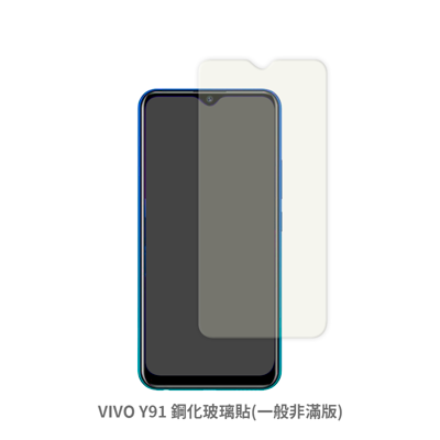 2020 新款 VIVO Y91 (一般 非滿版) 保護貼 玻璃貼 鋼化玻璃膜 螢幕保護貼