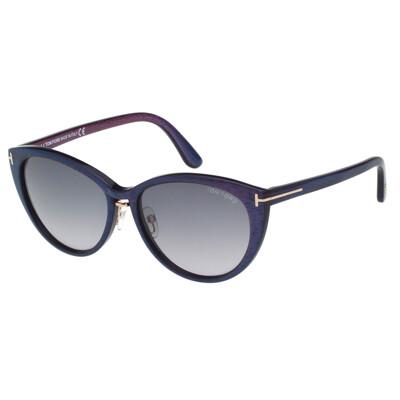TOM FORD 經典 太陽眼鏡(紫+藍色)