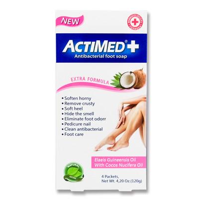 艾迪美 ACTIMED SPA抗菌泡腳粉-(4.2oz/30g*4包)*6