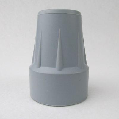 橡膠腳套 腳墊-孔徑2.05cm 高5.75cm 灰色 2個入 前臂拐杖 腋下拐杖台灣製FW-875