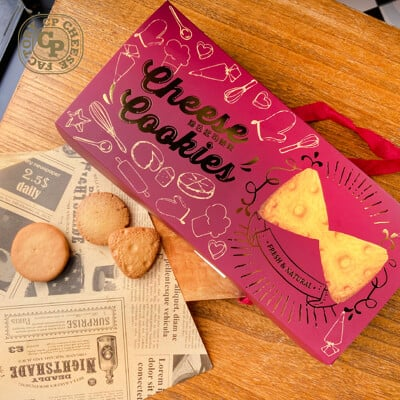 《超品起司烘焙工坊》起司餅乾精選盒