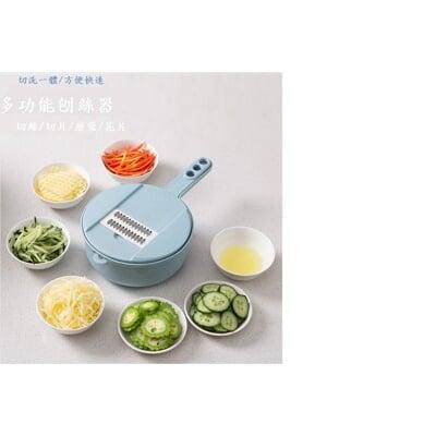 多功能切菜器切菜機 磨泥器 切片器 刨絲器 廚房神器 家用切絲器 切菜神器 副食品調理機