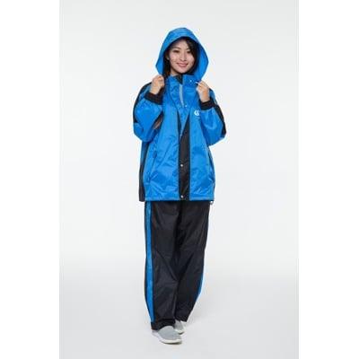 Arai 兩件式雨衣/ K6 套裝 時尚簡易風雨衣 100% 台灣製造