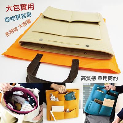 大包專用手提收納包中袋  加厚毛氈