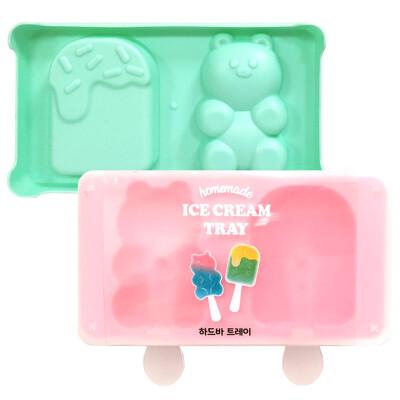 韓國homemade DIY製作冰棒盒 冰棒模具