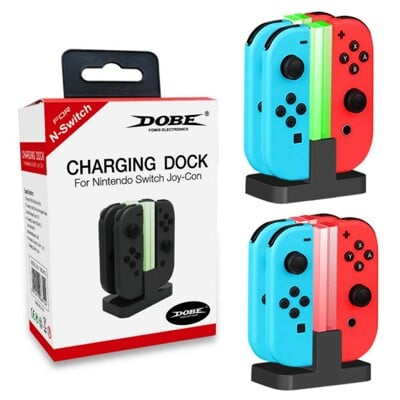 【Nintendo 任天堂】DOBE Joy-Con 充電座
