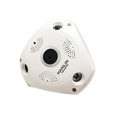 全景360度語音監視器 WIFI 監控攝影機 無線監視器 無線攝影機 網路攝影機