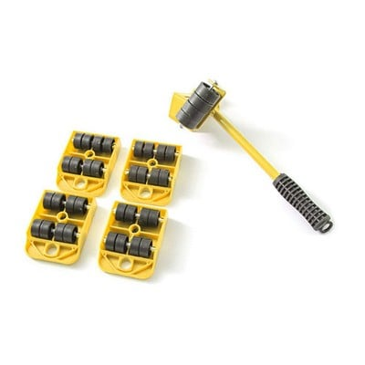 超省力家具移動器 (5件套) 家具搬運器 搬家工具 重物移動工具 托運器 傢俱移動器 - hw-13