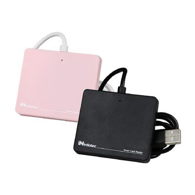 ATM薄型晶片讀卡機 IC讀卡機 ATM 讀卡機 適用於 金融卡 自然人憑證 健保卡 讀卡器