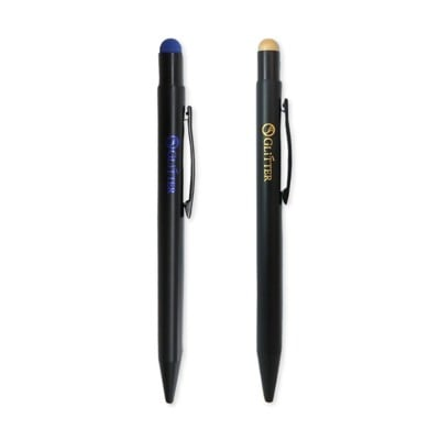 彩色亮銀觸控筆 觸控手寫筆 觸控原子筆 電容筆 適用 手機平板電腦專用觸控筆 電容式觸控筆