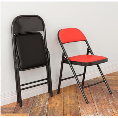 靠背椅家用折疊椅子便攜辦公椅會議椅電腦椅餐椅宿舍現代凳子