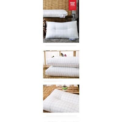 居家酒店時尚格調枕頭單雙人枕芯羽絲絨成人護頸保健枕學生枕一對
