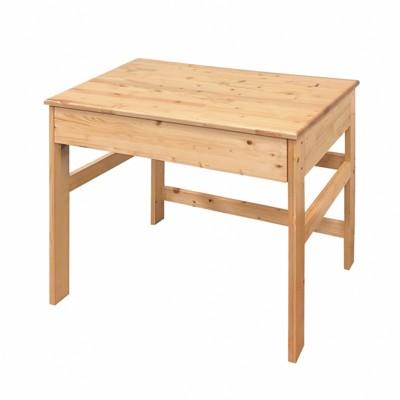 AS-北歐風情松木書桌-81×60×75cm