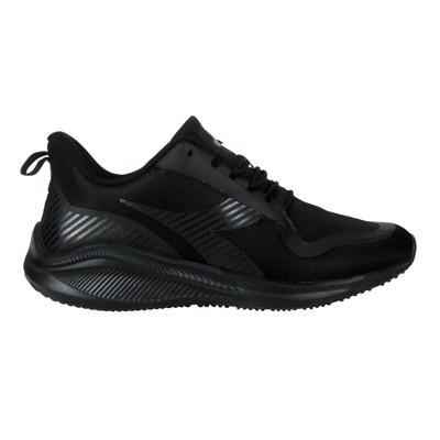DIADORA 男運動生活時尚運動鞋-寬楦 慢跑 路跑 全黑
