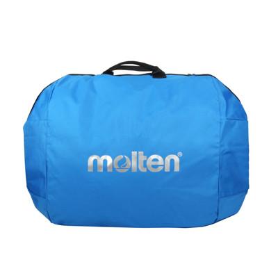 MOLTEN 籃球袋六入裝-裝備袋 側背包 肩背包 藍銀