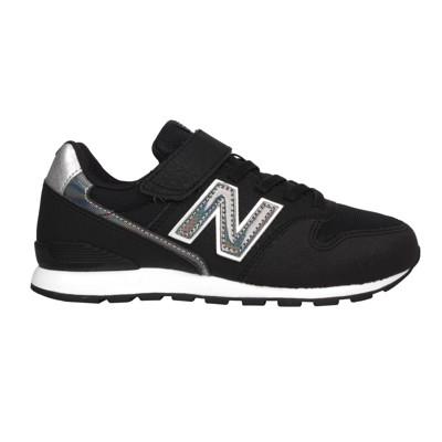 NEWBALANCE 男中童運動休閒鞋-WIDE-996系列 寬楦 NB 黑銀