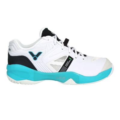 VICTOR 男羽球鞋-訓練 運動 勝利 寬楦 3E 白黑藍綠