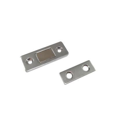 661ST 新型薄磁吸 強力磁鐵 門板用磁吸 430白鐵