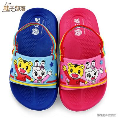 【鞋子部落】輕量後帶拖鞋 巧虎 TR0314-藍/桃 (共二色)