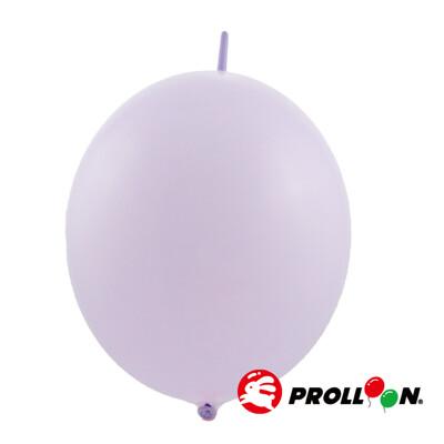 【大倫氣球】12吋馬卡龍色 圓形連接氣球 針球 100顆裝 淡紫色 台灣製造 安全無毒