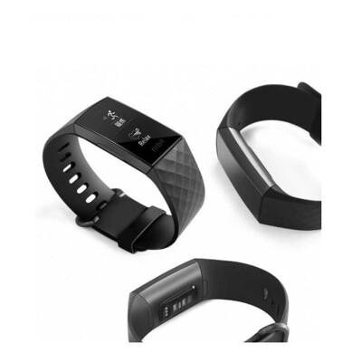 【矽膠錶帶】Fitbit Charge 3 / 4 / se 智慧 智能 手錶 替換純色 運動 菱形