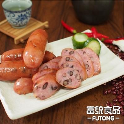 【富統食品】萬丹紅豆香腸 50公克/支  (5支/包)