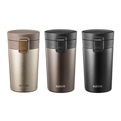 KINYO 耐嘉304不鏽鋼咖啡保溫杯300ml KIM-35 保溫瓶 水瓶 交換禮物 聖誕禮物