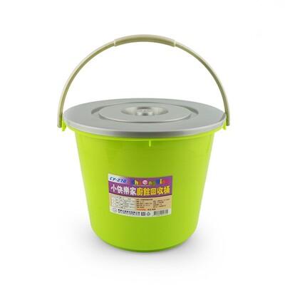 簡約衛生 廚餘回收桶-附蓋 廚餘桶 台灣製造