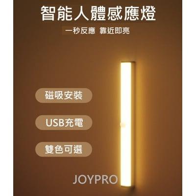 LED人體感應燈 USB充電  露營燈 書桌燈 櫥櫃燈 野營釣魚燈(21cm)