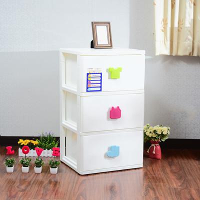 玩具衣物三層收納櫃150L